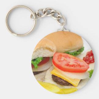 Mini Hamburgers Keychain