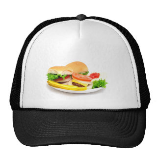 Mini hamburguesas gorras de camionero