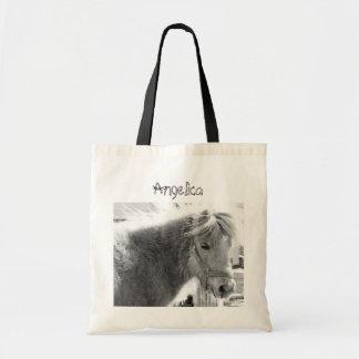 Mini Horse Text Bag