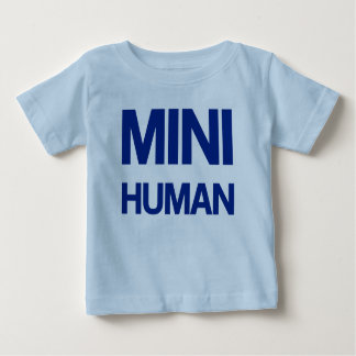 Mini Human (blue) Baby T-Shirt