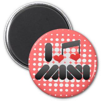 Mini Imán Redondo 5 Cm