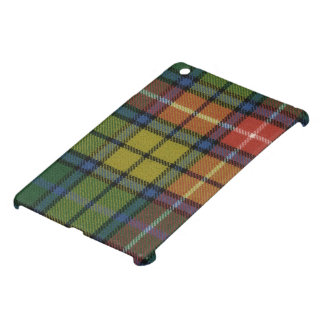 mini impresión antigua del tartán de Buchanan del iPad Mini Cárcasas
