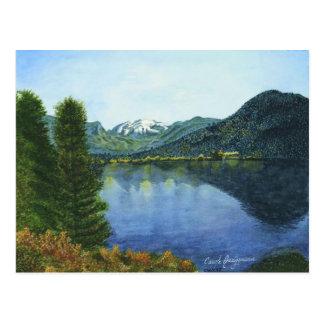 Mini impresiones del coleccionable del lago magníf postal