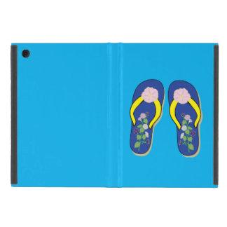 Mini IPAD case Morning Glory Flip Flops