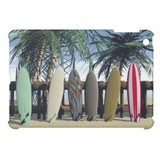 Mini IPad Case Surf surf board surfing