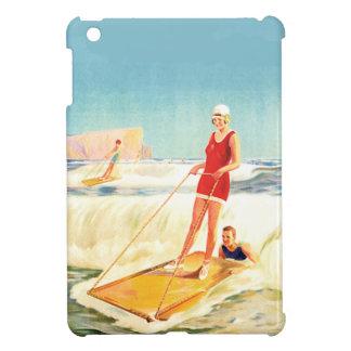 Mini Ipad Case Surfing vintage fun
