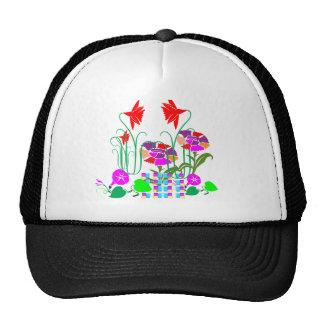 Mini jardín: Centro de flores Gorras De Camionero