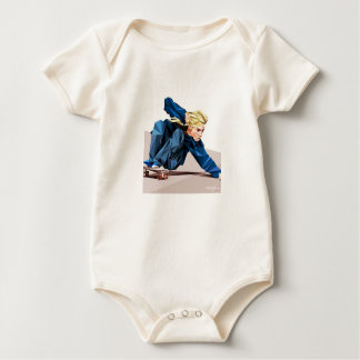 Mini Jay Adams Baby Bodysuit
