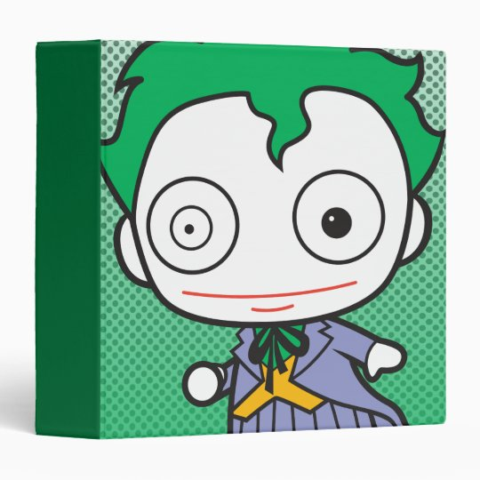 Mini Joker 3 Ring Binder