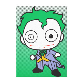 Mini Joker Canvas Print