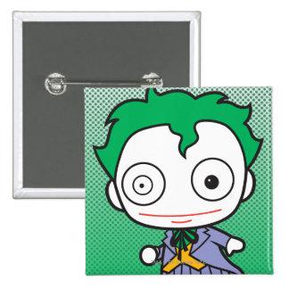 Mini Joker Pinback Button