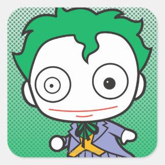 Mini Joker Square Sticker