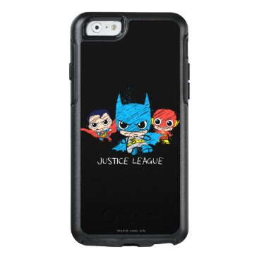 Mini Justice League Sketch OtterBox iPhone 6/6s Case