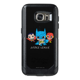 Mini Justice League Sketch OtterBox Samsung Galaxy S7 Case