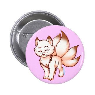 Mini kitsune  botton buttons