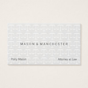 Watermark business cards templates zazzle mini light watermark style scales of justice business card colourmoves Images