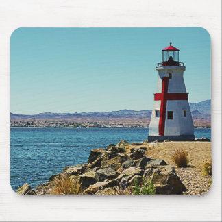 Mini Lighthouse, Lake Havasu Mouse Pad