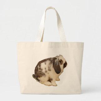mini Lop Bunny Large Tote Bag