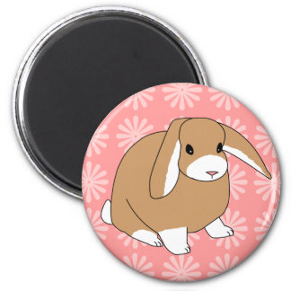 Mini Lop Rabbit Magnet