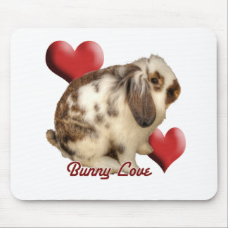 Mini-Lop rabbit Mouse Pad