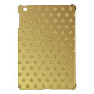 mini lunar del oro del caso del iPad