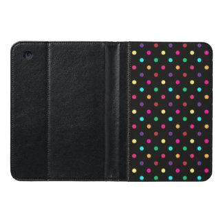 Mini lunares del iPad en folio del caso
