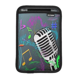 Mini manga de la música del iPad retro del carrito Funda iPad Mini