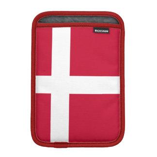 Mini manga del iPad danés de la bandera