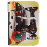 Mini máquina de coser del vintage