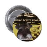 Mini marca del Schnauzer - Organic Coffee Company Pins