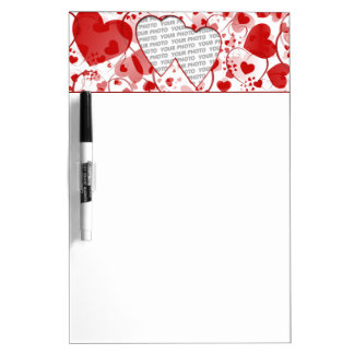 Mini marco II del corazón + su foto y ideas Tablero Blanco