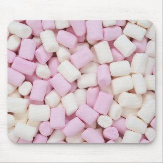 Mini marshmallows mouse pad