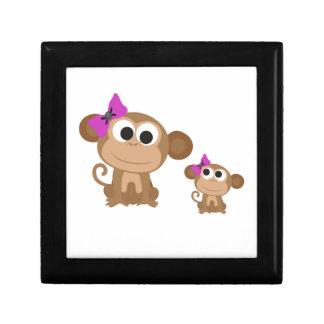 Mini me monkey gift box