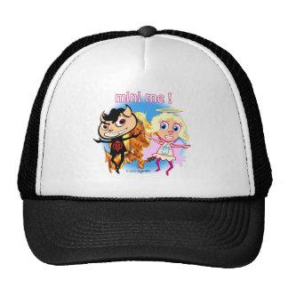 Mini Me! Naughty Boy and Nice Girl Trucker Hats