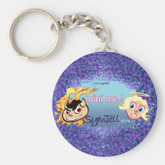 Mini Me Round Keychain