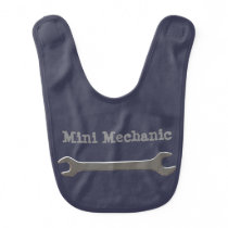 Mini Mechanic Baby Bib