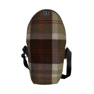 Mini Messenger Bag Bannockbane Tartan Print