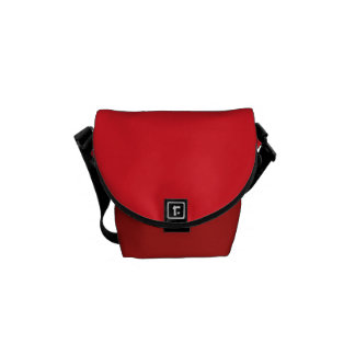 "Mini Messenger Bag: ""Red"" Messenger Bag"
