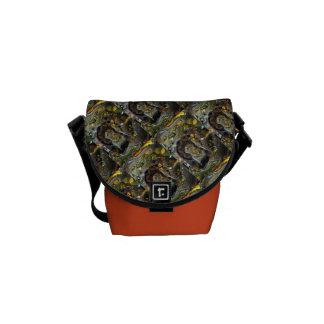 Mini Messenger Bow Yoga Pose Courier Bags