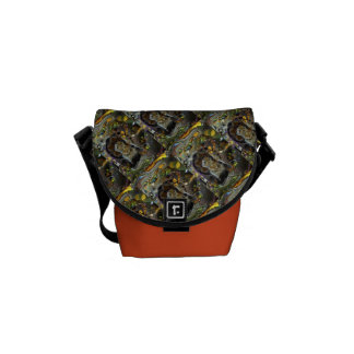 Mini Messenger Bow Yoga Pose Messenger Bag