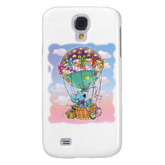 Mini Mice and big balloon Galaxy S4 Cover