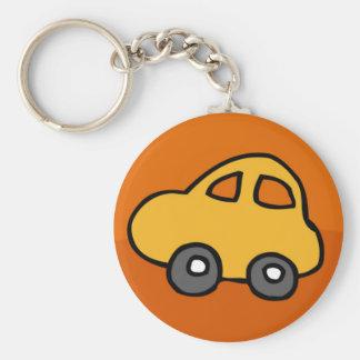 Mini Mini Car Basic Round Button Keychain