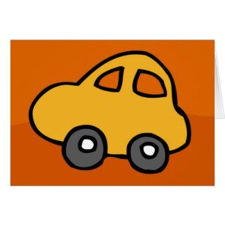 Mini Mini Car Greeting Card