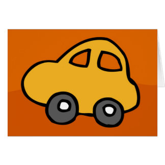 Mini Mini Car  - HappyHolidays Happy Holidays Greeting Card