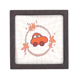 Mini Mini Car Keepsake Box