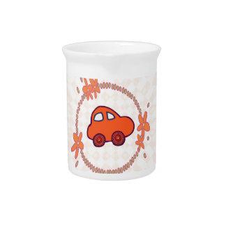 Mini mini coche jarra