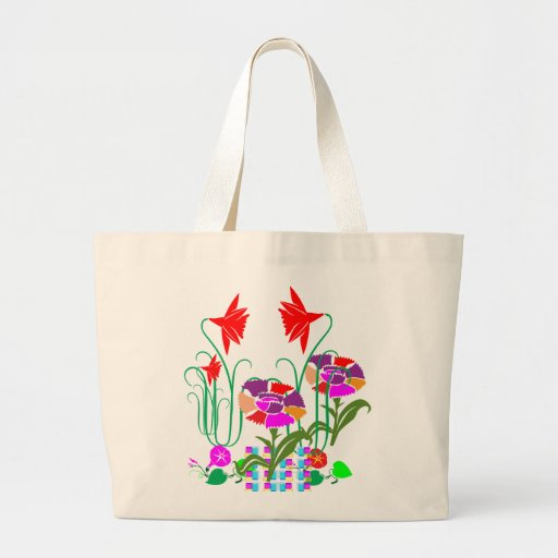 Mini Mini Garden:  Bunch of Flower Arrangement Tote Bag