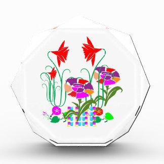 Mini mini jardín Manojo de centro de flores