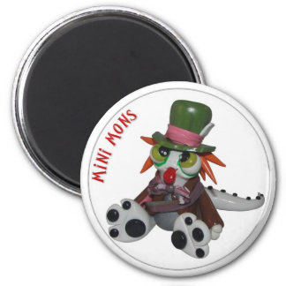 """Mini Mons """"Everyone's a little MAD"""" Magnet"""