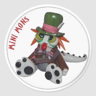 """Mini Mons """"Everyone's a little MAD"""" Sticker"""